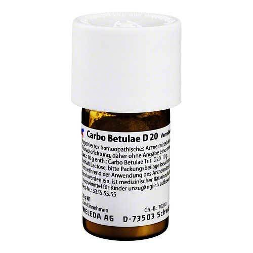 Carbo Betulae D 20 Trituration - 1