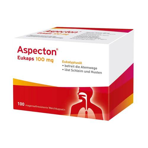 Aspecton Eukaps 100 mg magensaftresistent Weichkapseln - 1