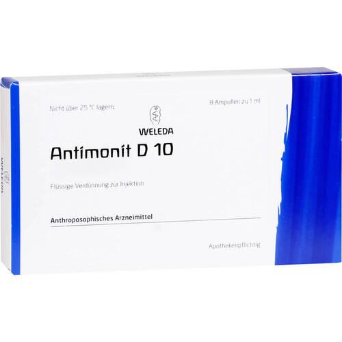 Antimonit D 10 Ampullen - 1