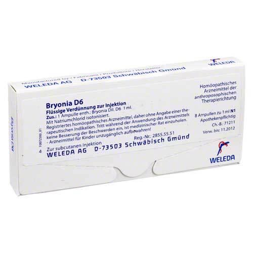 PZN 01619753 Ampullen, 8X1 ml