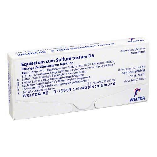 PZN 01621945 Ampullen, 8X1 ml