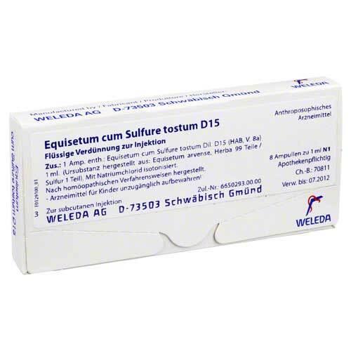PZN 01621968 Ampullen, 8X1 ml