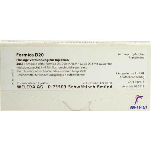 Formica D 20 Ampullen - 1