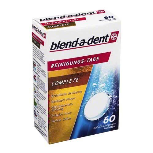 Blend A Dent Reinigungs Tabs Complete - 1
