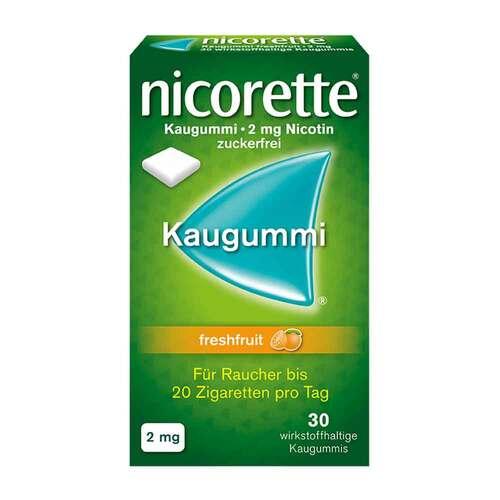 Nicorette Kaugummi 2 mg freshfruit - 1