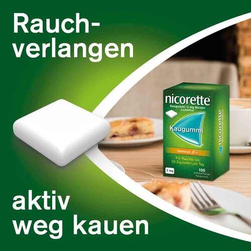 nicorette Kaugummi freshfruit, 2 mg Nikotin - 3