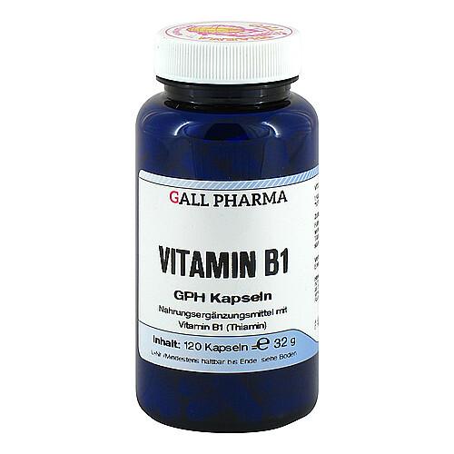 Vitamin B1 GPH 1,4 mg Kapseln - 1