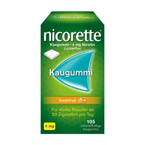 Nicorette Kaugummi 4 mg freshfruit - 1