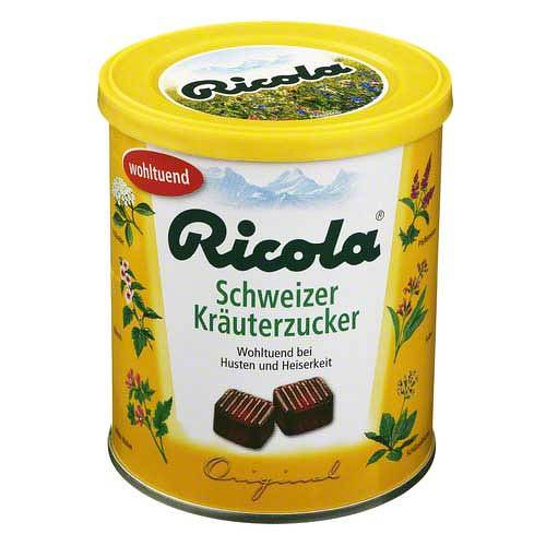Ricola mit Z. Kräuter Bonbons - 1