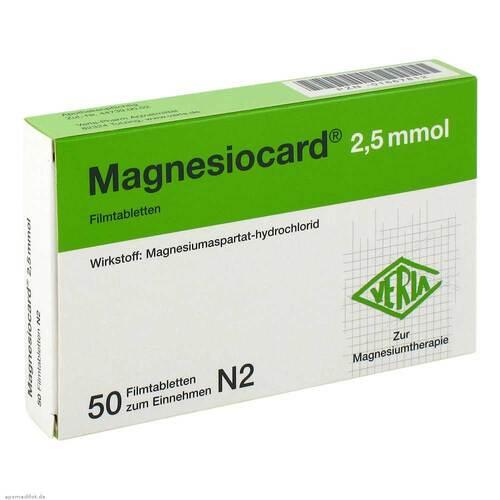 Magnesiocard 2,5 mmol Filmtabletten - 1