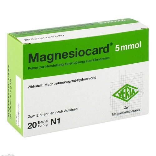 Magnesiocard 5 mmol Pulver - 1
