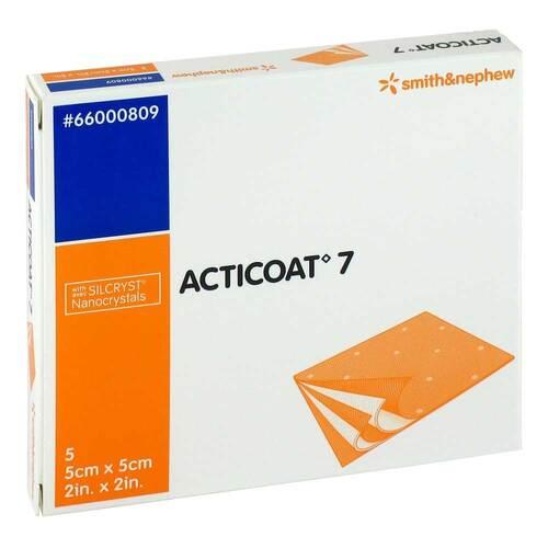 Acticoat 7 5x5 cm antimikrobielle Wundauflage - 1