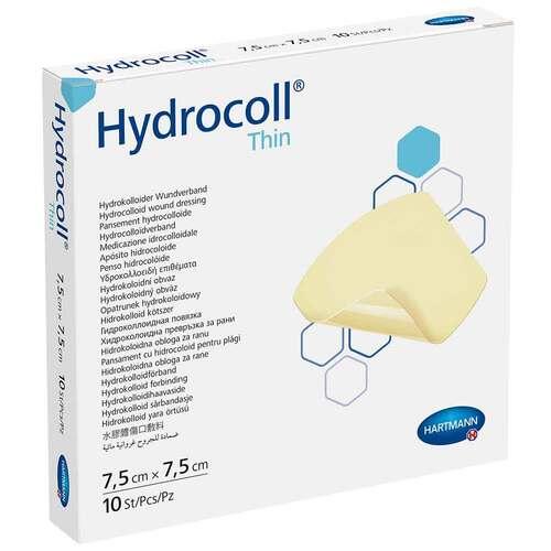 Hydrocoll thin Wundverband 7,5x7,5 cm - 1