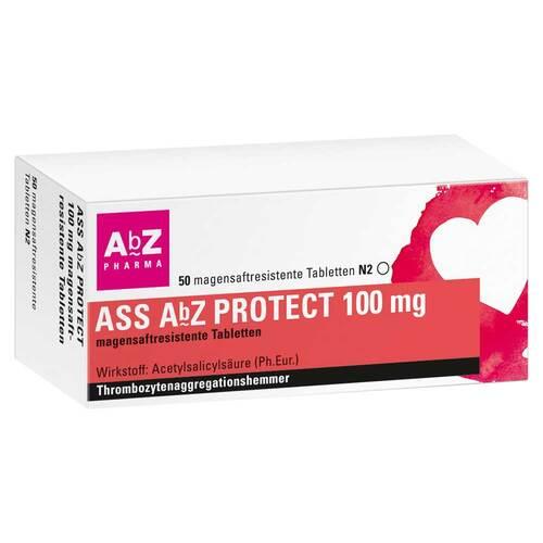 ASS AbZ Protect 100 mg magensaftresistent Tabletten - 1