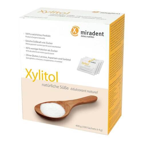 Miradent Zuckerersatz Xylitol Pulver Sachets - 1