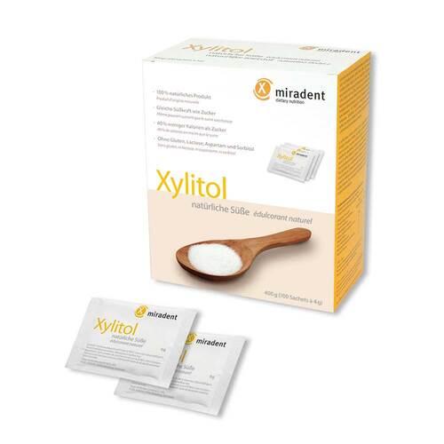 Miradent Zuckerersatz Xylitol Pulver Sachets - 2