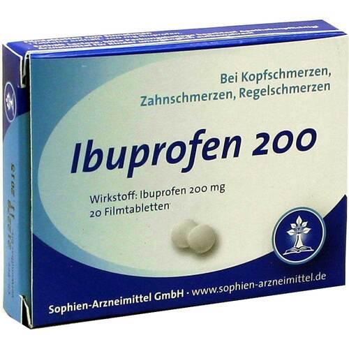 Ibuprofen Sophien 200 Filmtabletten - 1