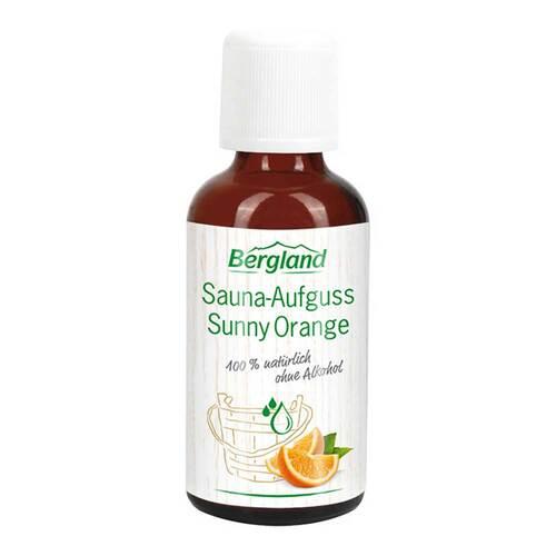 Sauna-Aufguss Sunny Orange - 1
