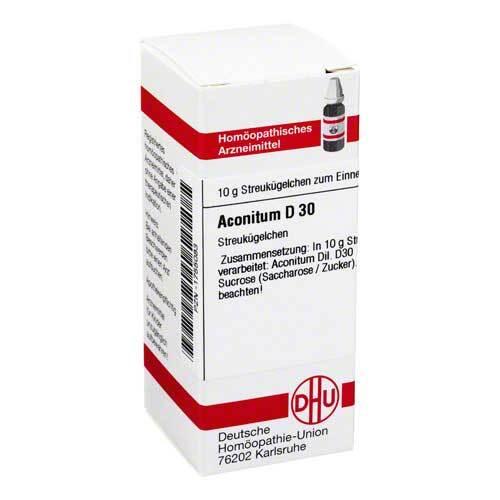 DHU Aconitum D30 Globuli - 1