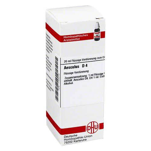 DHU Aesculus D 4 Dilution - 1