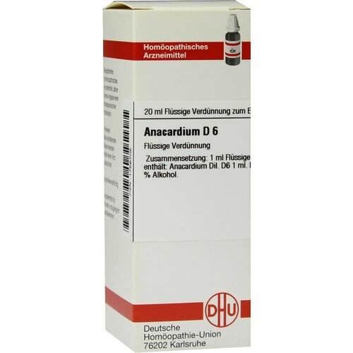 Anacardium D 6 Dilution - 1