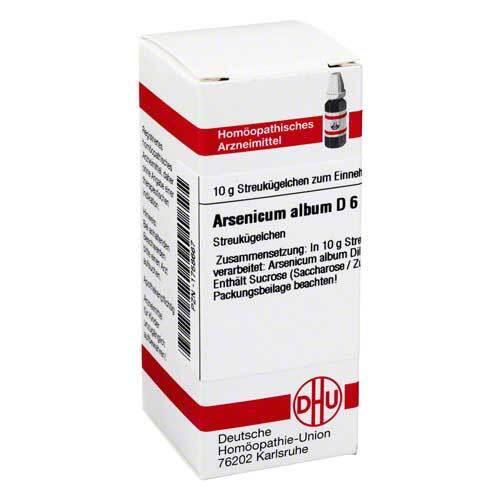 Arsenicum album D 6 Globuli - 1