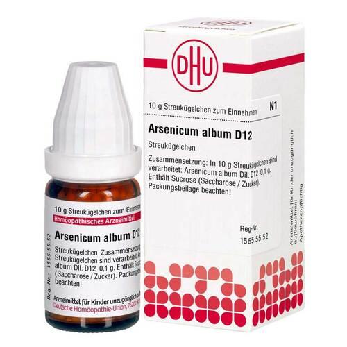 DHU Arsenicum album D12 Globuli - 1