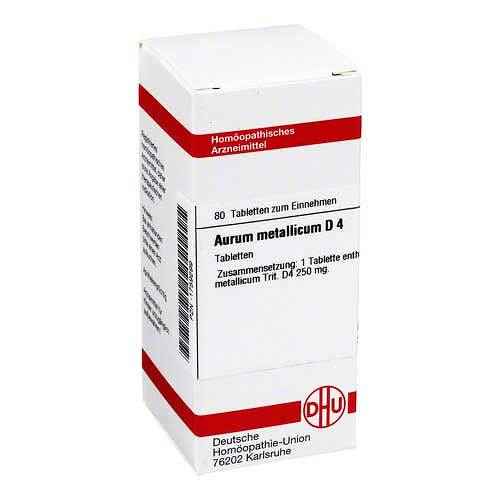 DHU Aurum metallicum D 4 Tabletten - 1