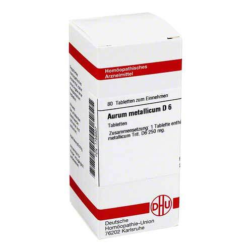 DHU Aurum metallicum D 6 Tabletten - 1