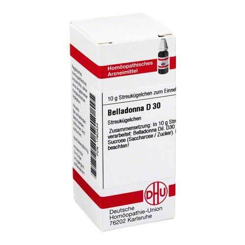 DHU Belladonna D 30 Globuli - 1