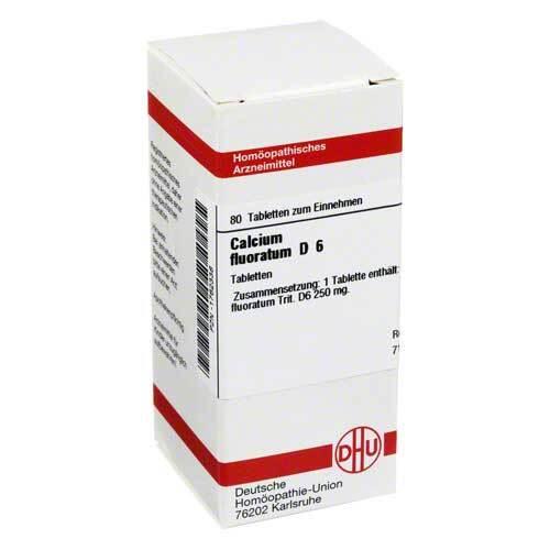 DHU Calcium fluoratum D 6 Tabletten - 1