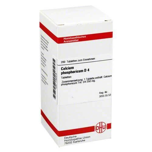 Calcium phosphoricum D 4 Tabletten - 1