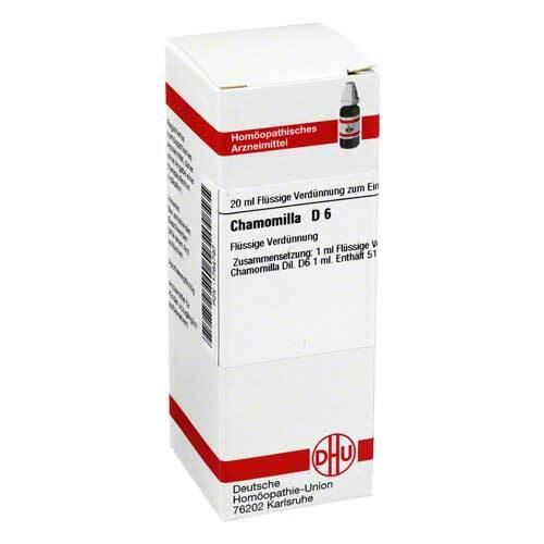 DHU Chamomilla D 6 Dilution - 1
