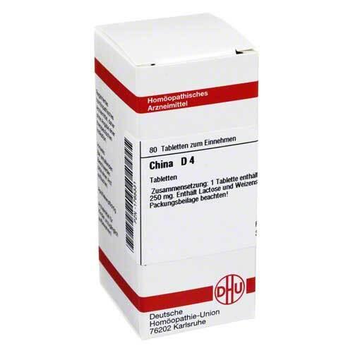 DHU China D 4 Tabletten - 1