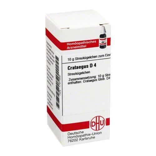 DHU Crataegus D 4 Globuli - 1