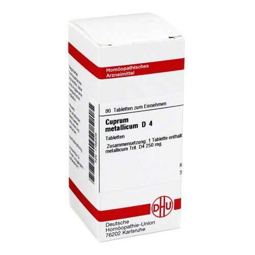 DHU Cuprum metallicum D 4 Tabletten - 1