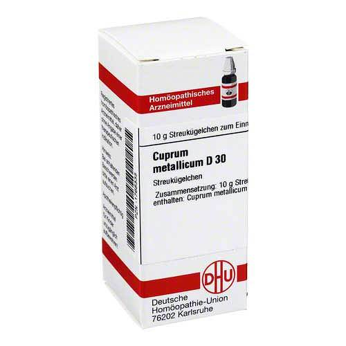 Cuprum metallicum D 30 Globuli - 1