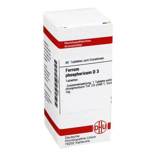 DHU Ferrum phosphoricum D 3 Tabletten - 1