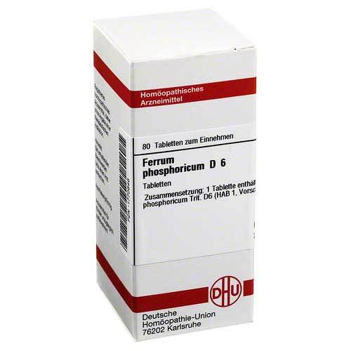 DHU Ferrum phosphoricum D 6 Tabletten - 1