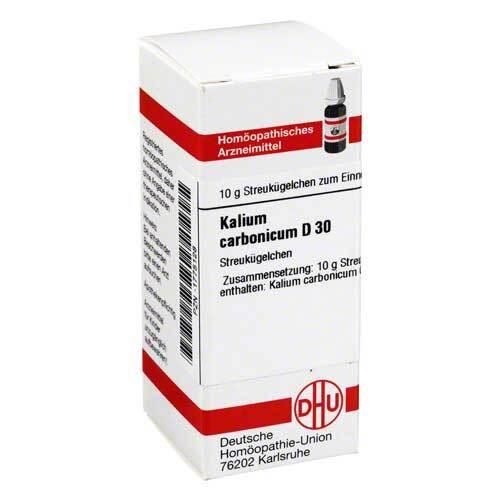 Kalium carbonicum D 30 Globuli - 1