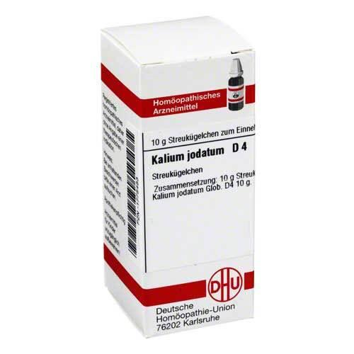 Kalium jodatum D 4 Globuli - 1
