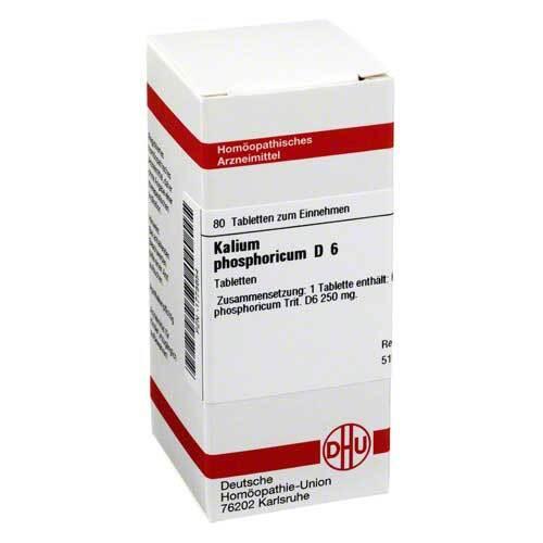 DHU Kalium phosphoricum D 6 Tabletten - 1