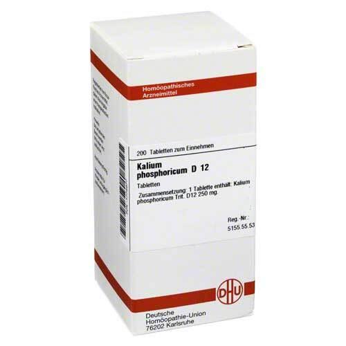 DHU Kalium phosphoricum D 12 Tabletten - 1