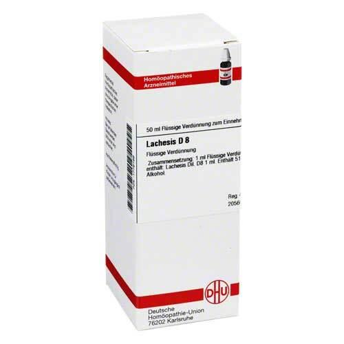 DHU Lachesis D 8 Dilution - 1