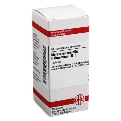 DHU Mercurius solubilis D 6 Tablett - 1