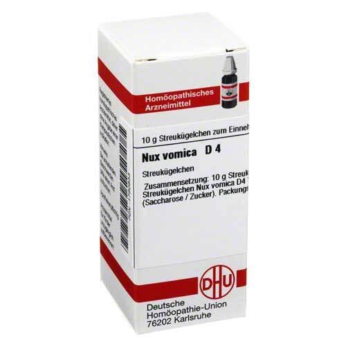 DHU Nux vomica D 4 Globuli - 1