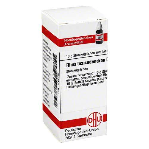 Rhus toxicodendron D 3 Globuli - 1