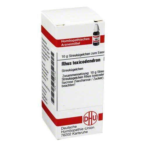 DHU Rhus toxicodendron D 4 Globuli - 1