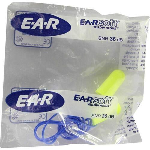 Ear Soft Gehörschutzstöpsel mit Band - 1