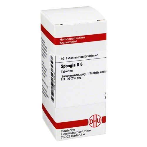DHU Spongia D 6 Tabletten - 1